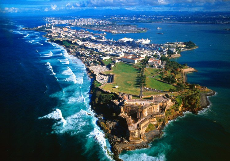 The Freedom Cruise sailed to beautiful San Juan.