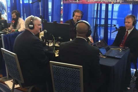 Tom Kilgannon with Pastor Greg Young on the Chosen Generation Radio Show at CPAC 2017