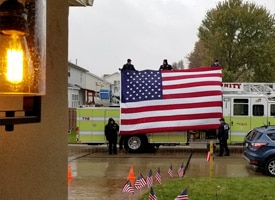 Arnold, Missouri Comes out in Support of Veteran Home Presentation